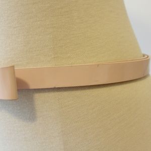 kate spade Accessories - Kate Spade Pink Patent Leather Bow Plaque Belt M